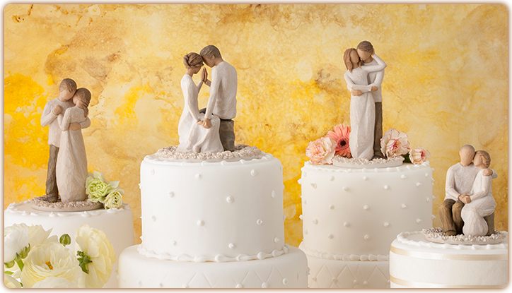 Willow Tree Cake Toppers